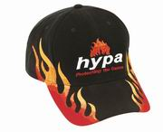 Racing Cap with Double Flame