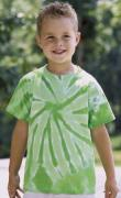 Solid Tie Dye Tee Youth